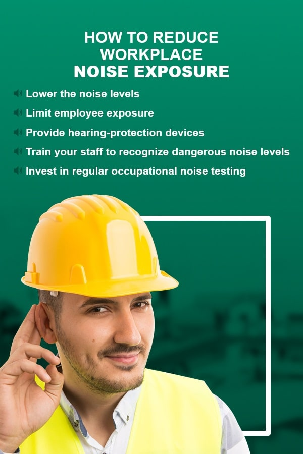 5 tips to reduce workplace noise exposure