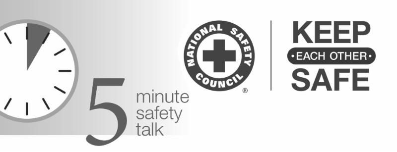 5 - Minute Safety Talk - Reducing Workplace FATIQUE