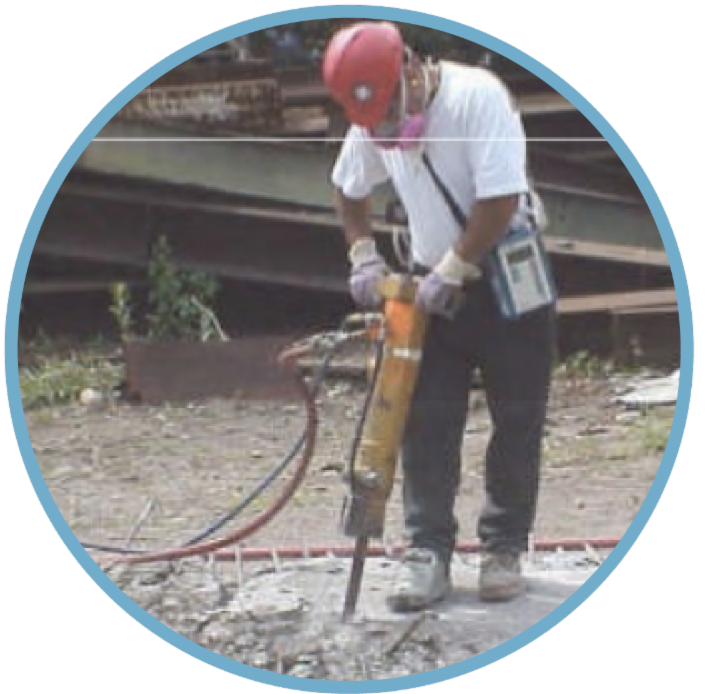 Jackhammers or Handheld Powered Chipping Tools